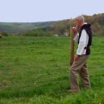 Visiting Brother David at Mount Saviour