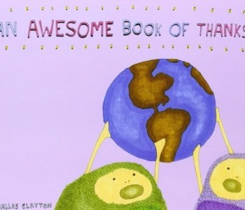 Awesome book of thanks cover