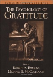 Psychology of Gratitude book cover