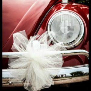 VW Beetle wedding