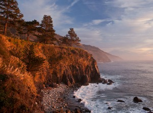 California coast Esalen