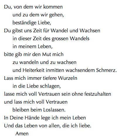 poem in German