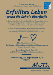 flyer for Vienna event