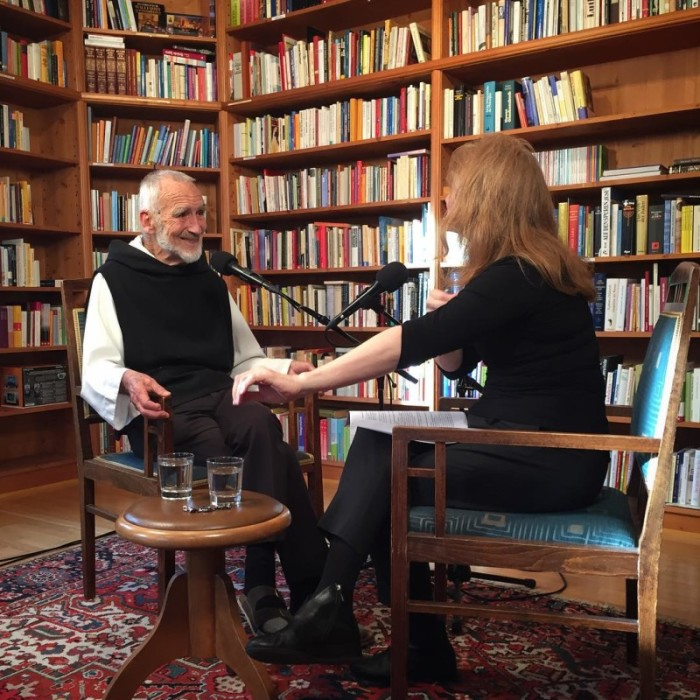 Br. David Steindl-Rast and Krista Tippett