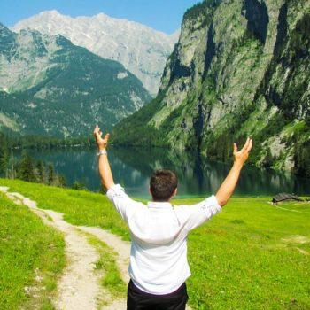 mountains joy awe