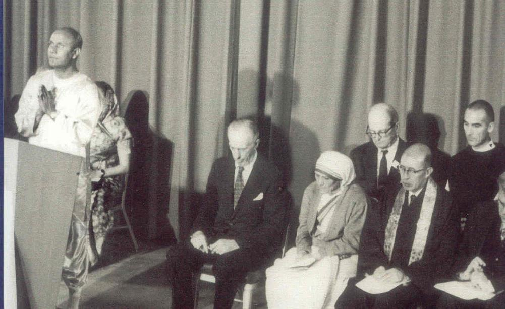 U.N. 1975 with Sri Chinmoy mother Theresa et al