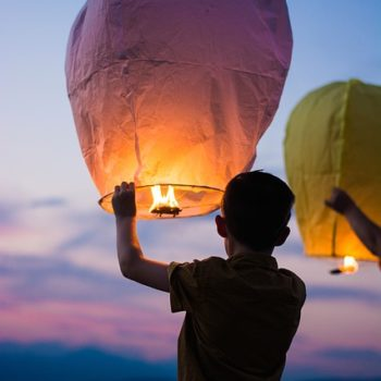 lantern-50 non-toy gifts for kids