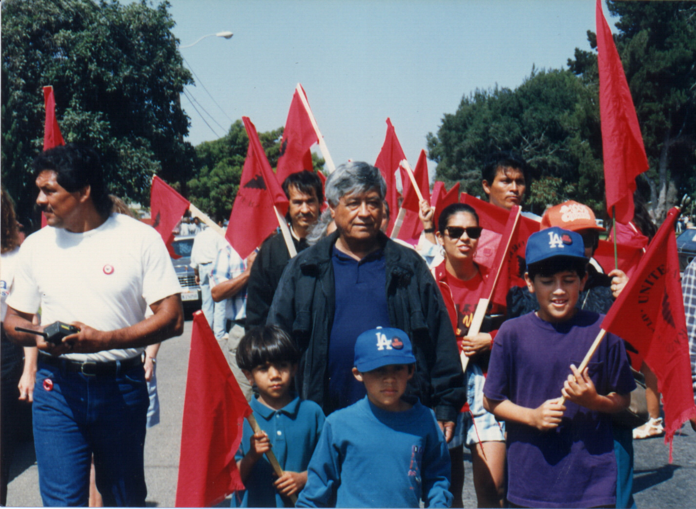 Cesar Chavez, Anthony Chavez, march,