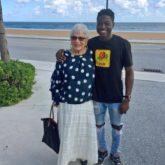Spencer Sleyon, 22, and Rosalind Guttman, 81