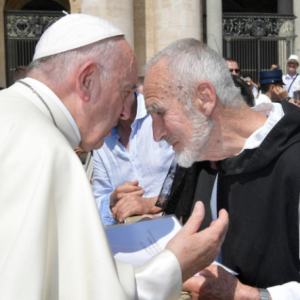 Br. David Meets Pope Francis