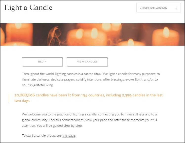 Light a Candle Example